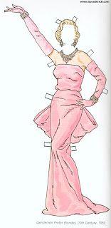 Bonecas de Papel: Marilyn Monroe