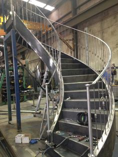 Spiral staircase Austec Industrial Engineering