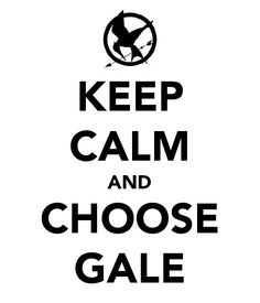 I'm not team Gale! But I still love him!