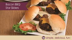 Get started on those burgers with easy solutions from Tastefully Simple #bbq #gilling #burgers  Shop today from TSbyJacki.com