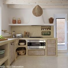 Polished concrete kitchen - Rock my Casbah Article Gallery Ideas] Decor, Kitchen Interior, Concrete Kitchen, Kitchen Decor, Home Decor, House Interior, Home Kitchens, Rustic Kitchen, Kitchen Design