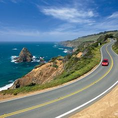 The 10 Best Road Trips! Open the sunroof, crank up the tunes, and hug the curves along these stunning water-view drives.