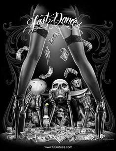 Dexter Morgan - Intro Ash Riser - Drug you Should Try ( Travis Scott Cover ) Everlast - Shook Ones Vinnie Paz - Karma Dexter Interlude 1 Vinnie Paz - Die Easy La Coka Nostra - Malverde Market Sandpeop Fantasy Anime, Fantasy Kunst, Fantasy Art, Dark Fantasy, Neue Tattoos, Body Art Tattoos, Tattoo Art, Arte Lowrider, Arte Dope