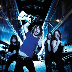 Airbourne. Awesome aussie hard rock band continuing the legacy of classic 70's and 80's hard rock. Runnin' Wild and Live it up, are some of their best songs.
