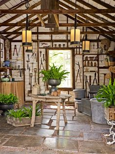 Possibly the world's most attractive toolshed
