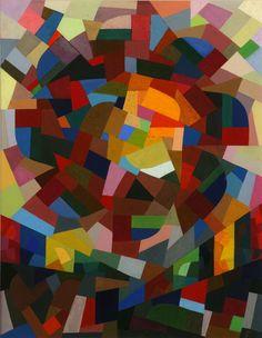 Otto Freundlich - Rose Window II, 1941, gouache on cardboard