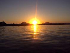 Sunset Brasil Pantanal Mountain Nature Water  foto:Kp