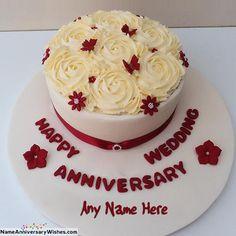 36 Best Happy Anniversary Cakes Images Cake Name Happy