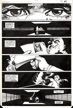 A page from Daredevil #181 by Frank Miller and Klaus Janson.