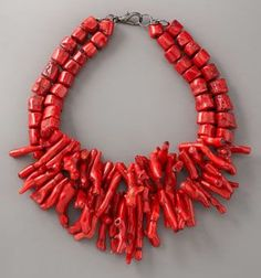 NECKLACES FOR THE BOLD | Bold Coral Necklaces | Lovingyou.com: Love, Romance and Relationship ...