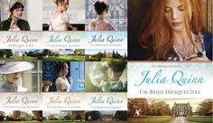 Românticos e Eróticos  Book: Julia Quinn - Bridgertons #1 a #7