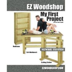 My First Project: Easy-to-Build Woodworking Plans for Beginners by Andy Duframe Mr - Grassland Publishing Woodworking Tool Cabinet, Essential Woodworking Tools, Antique Woodworking Tools, Unique Woodworking, Woodworking For Kids, Woodworking Projects That Sell, Popular Woodworking, Woodworking Furniture, Woodworking Plans