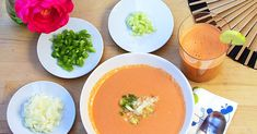 Spanish Gazpacho Recipe Directions, I Want To Eat, Recipe For 4, Original Recipe, Healthy Fats, Soups And Stews, Vegan Vegetarian, A Food, Recipes