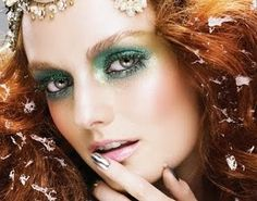 green mist eyes. This will be the makeup for my simple youthful fairies.