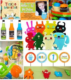 UglyDoll Birthday Party