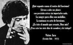 Fragmento del ultimo poema de Victor Jara en el Estadio Chile (1973)