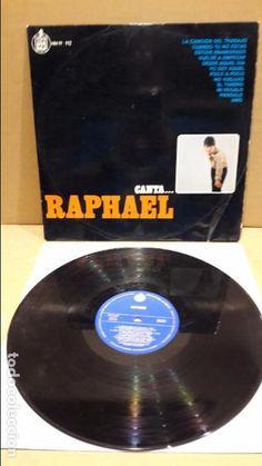 CANTA...RAPHAEL. LP / HISPAVOX - 1966 / ALGO DE USO / ACEPTABLE. ***/***