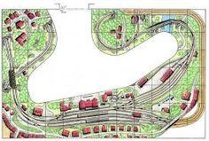 Bildergebnis für modellbahnanlage planen