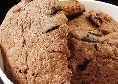 Cookie com gotas de chocolate. (Foto: Chubby Vegan)