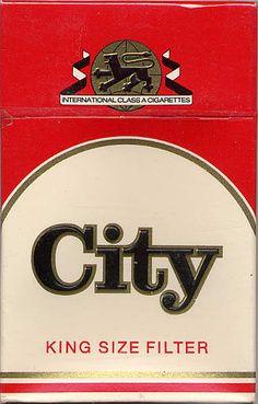 City  #cigarette #vintage #design