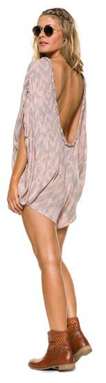 Beach cover up, romper by Tallow http://www.swell.com/ZEST-FOR-LIFE-6