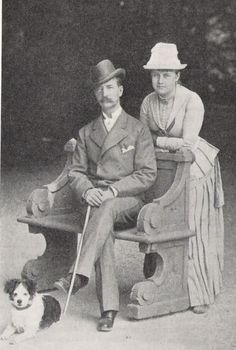 King George I of Greece and Queen Olga (née Olga Constantinovna of Russia)
