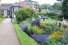 Gardens at Rufford Hall, Lancashire