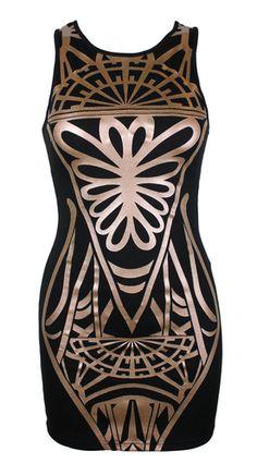 Mink Pink Mirror Mirror Dress