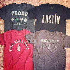Where are you loving Tankfarm & Co from? #Nashville #Austin #Philadelphia #Vegas #Tees