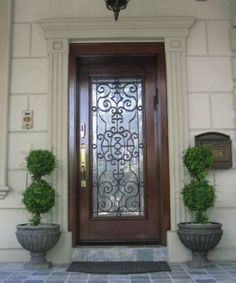 1000 Images About Replacement Front Doors On Pinterest Wrought Iron Doors Custom Wood And