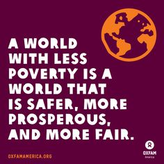 Stand with us in the fight against poverty and injustice.