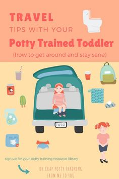 Travel Tips with Your Potty Training or Potty Trained Toddler How to Go Near or Far and Stay Sane | potty training tips | traveling with toddlers | Oh Crap Potty Training (scheduled via http://www.tailwindapp.com?utm_source=pinterest&utm_medium=twpin&utm_content=post173443837&utm_campaign=scheduler_attribution)