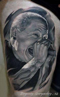 Redberry Tattoo Studio Wrocław #tattoo #inked #ink #studio #wroclaw #warszawa #tatuaz #gdansk #redberry #katowice #berlin #poland #krakow #kraków #sosnowiec #poznan #opole #ugene #evgeniy #goryachiy #portrait #portret #fanart #linkinpark #chester #realistic #grey