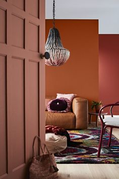 Warm hues dominate the Dulux 2017 summer colour trend