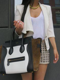 #Celine Mini Luggage Tote