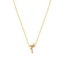 // Vergara Collection - Flamingo Necklace - FLOR AMAZONA Flamingo Necklace, Arrow Necklace, Gold Necklace, Necklace Designs, Chokers, Necklaces, Collection, Jewelry, Amazons