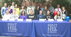 Flint Hill School holds spring signing ceremony for athletes.