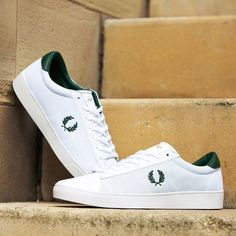 """new product e1aeb 03f5e FOOTASYLUM on Instagram  """"Sharpen up your look in the  FredPerry 1952  Spencer Mesh Trainer. Available in two colour-ways (093148   093150)   footasylum ..."""