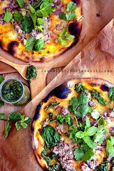 Pizza Larb