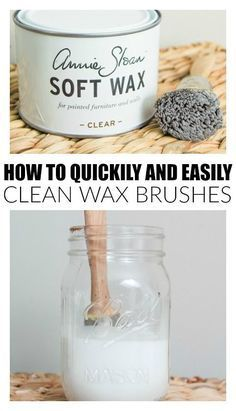 {Quick Tip} How to Easily Clean Your Wax Brush