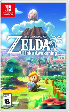26 years after its original release on Game Boy, The Legend of Zelda: Link's Awakening is reborn on Nintendo Switch. Buffeted by a storm, Link washes ashore on the mysterious Koholint Island. Nintendo 3ds, Nintendo Switch Zelda, Nintendo Console, Nintendo Switch Games, Nintendo Store, The Legend Of Zelda, Legend Of Zelda Characters, Charmed Characters, Super Smash Bros