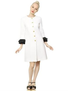 Moschino Cotton Jacquard Coat | #Chic Only #Glamour Always