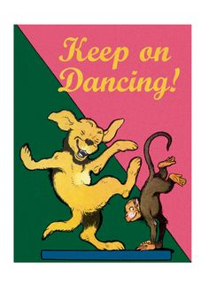 *New Cards* Animals Dancing Friendship Humor Illustrator: Benjamin Rabier'