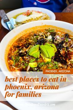 Traveling to Phoenix, Arizona with the family? Check out this detailed Phoenix Food Guide on the best restaurants to eat at with kids during your next AZ vacation including breakfast, brunch, lunch, dinner, and dessert recommendations! www.thetattooedtravelers.com // Phoenix Arizona Food // Phoenix Food Restaurant // Best Food In Phoenix Arizona // Phoenix With Kids // Where To Eat In Phoenix AZ // #phoenix #arizona Phoenix With Kids, Insomnia Cookies, Chicken And Waffles, Arizona Usa, Best Places To Eat, Brunch, Restaurant, Dinner, Breakfast