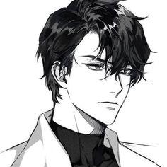 Discover recipes, home ideas, style inspiration and other ideas to try. Manga Anime, Manga Boy, Anime Art, Manhwa Manga, Handsome Anime Guys, Cute Anime Guys, Anime Boys, Guy Drawing, Drawing Faces