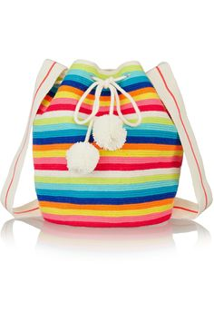 SOPHIE ANDERSON Lilla crocheted cotton bucket bag  $819.51 http://www.net-a-porter.com/products/552777