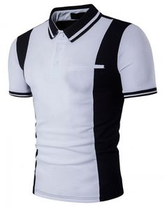 ConMotion Brand Clothing UK Size Fashion Men's Polo Shirt High Quality Striped Patchwork Casual Polo Shirts Tops&Tees Plus Szie Polo Shirt Brands, Polo T Shirts, Cotton Shirts, Camisa Polo, Cool Outfits For Men, Clothes For Women, Camisa Formal, Fashion Outfits, Mens Fashion