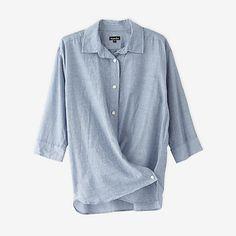 steven alan cross over shirt