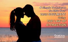 Positive thoughts have the influence to transform our lives for the better, most especially our love lives. With that, here are simple techniques that concentrate on using the Law of Attraction to find your soulmate.