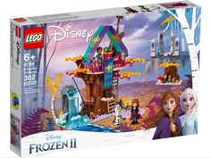 Superb LEGO 41164 Disney Frozen 2 Enchanted Treehouse Now at Smyths Toys UK. Shop for LEGO Disney Frozen At Great Prices. Click & Collect Within 1 Hour! Free Home Delivery for Account Holders Lego Disney Princess, Lego Princesse Disney, Disney Aladdin, Film Disney, Disney Rapunzel, Frozen Disney, Princesa Disney Frozen, Anna Frozen, Lego Frozen